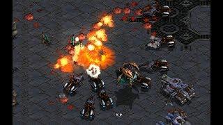 Flash (T) v Larva (Z) on Circuit Breakers - StarCraft Brood War REMASTERED 2019