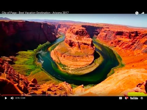 City of Page - Best Vacation Destination - Arizona 2017