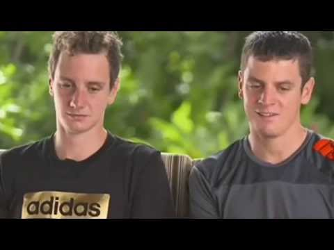 Post-Race Interview - Jonathan Brownlee thanks Alistair