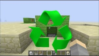 Minecraft Recycling Sorting Machine