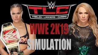 RONDA ROUSEY VS. NIA JAX - TLC 2018 PPV   WWE 2K19 SIMULATION