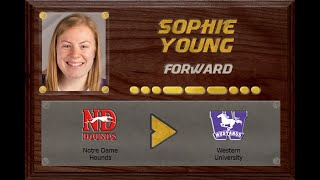 Sophie Young - SFU18AAAHL to USPORT | Stand Out Sports Client Hall of Fame