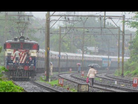 Indian Railways : Raining all day long !!