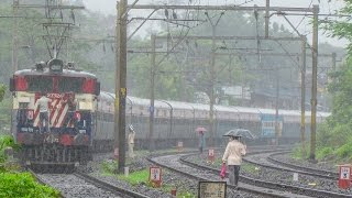 Indian Railways : Raining all day long !!