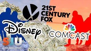 Disney Counters Comcast Big Time for Fox! - SJU