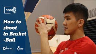 #Basketball101: How to sh๐ot a basketball [Basketball for Beginners]