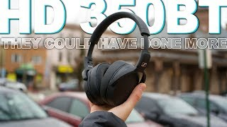 Sennheiser HD 350BT Review - They're Okay But I Expected More