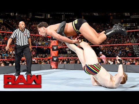 Mustafa Ali & Jack Gallagher vs. The Brian Kendrick & Drew Gulak: Raw, July 17, 2017