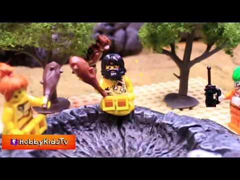 Goo Gas Part 6, Jokers Great Escape! Lego Batman Superhero Fun by HobbyKidsTV