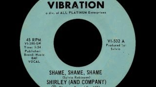 Shirley & Company ~ Shame Shame Shame 1975 Disco Purrfection Version