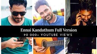 Ennai Kandathum Yen Nee | Honey Niagara | Veetla Paattu | Quarantine Tamil Song Collection