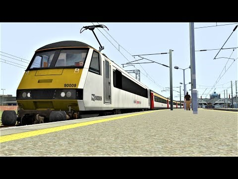 Train SImulator 2017:Class 90 Norwich-Liverpool Street (workshop Route)