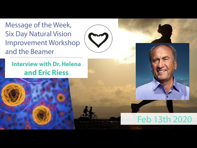 Message of the Week - Podcast Feb 13th 2020 | The Beamer Device with Dr. Helena and Eric Riess