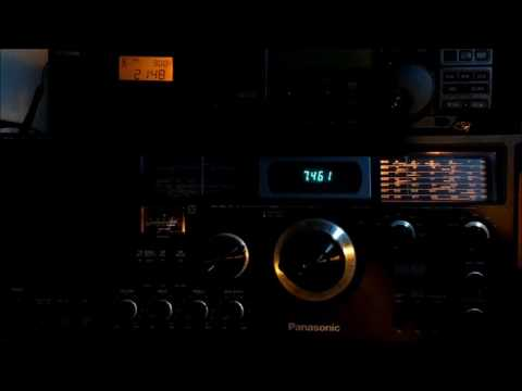 Radio Free Asia-Korean 7460KHz Ulan Bator, Mongolia - 07MAY2017 2148UTC