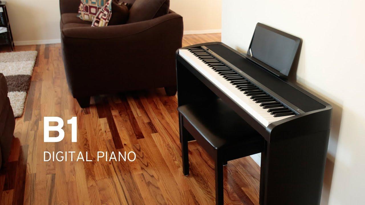 korg b1 digital piano youtube. Black Bedroom Furniture Sets. Home Design Ideas