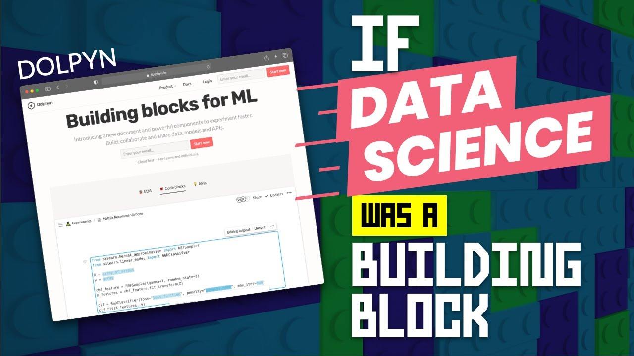 What if Data Science was a Building Block? (Dolphyn)