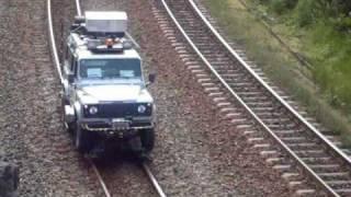 Auto de Linha da Vale - Veiculo Rodoferroviário - railroad vehicle