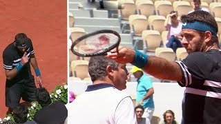 Tennis - Angry Players VS. Fans (Most Disrespectful Crowd Moments)