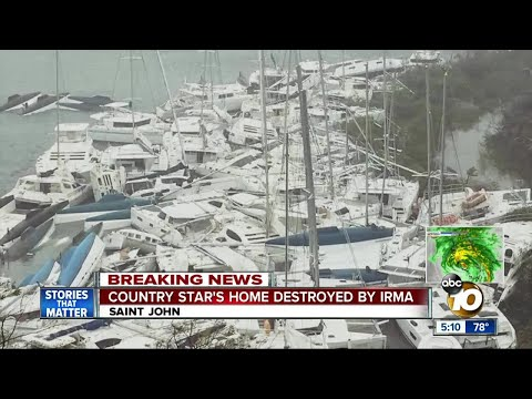 Irma Causes Catastrophic Damage on British Virgin Islands