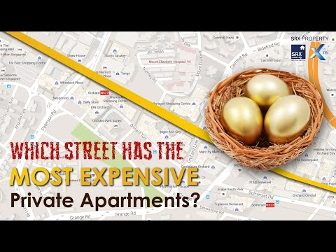 Most Expensive Apartment Streets in Singapore
