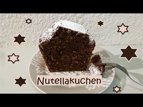Mega Fluffiger Nutellakuchen Youtube
