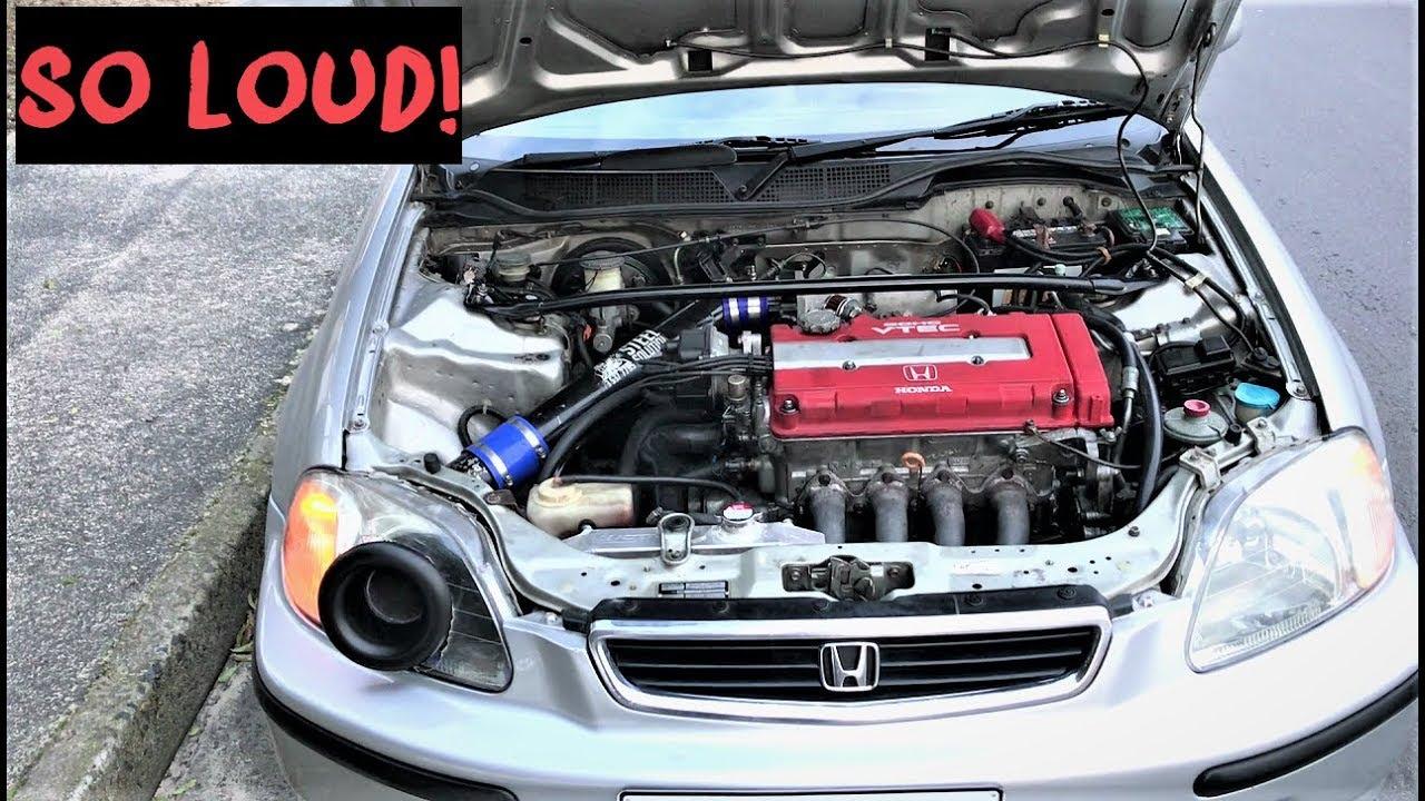 Honda B20 VTEC ONE OF THE LOUDEST VALVE LIFT I HEARD!
