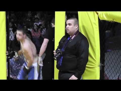 SSFL  ALL OR NOTHING Fight 1 Anthony Wolfe-vs-Cliff Maczynski 3/24/12