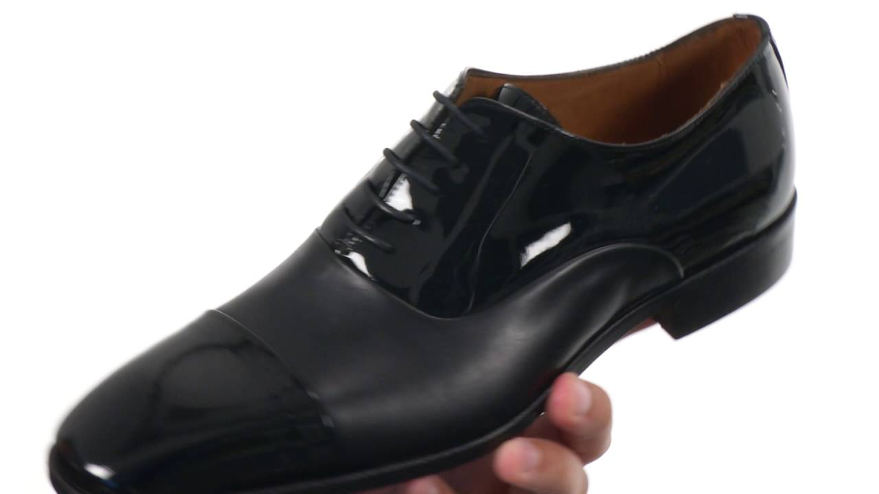 721acc11a2c Massimo Matteo Patent Leather Formal Bal SKU 8777542 - YouTube