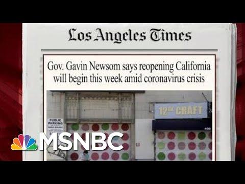 California Set To Reopen Portions Of Economy | Morning Joe | MSNBC