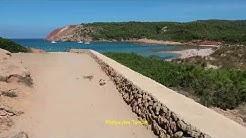 Menorca La isla bonita (1) Von Son Bou nach Algaiarens