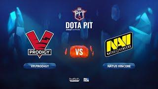 VP.Prodigy vs Natus Vincere, OGA Dota PIT Season 2: EU/CIS, bo3, game 1 [Maelstorm & Jam]