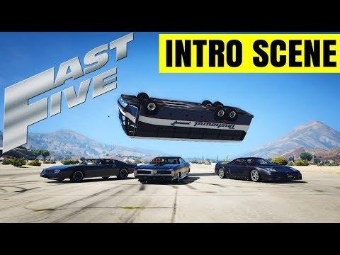 Grand Theft Auto 5 Fast Five Intro Scene