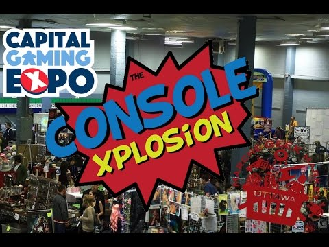 Our Visit To The Capital Gaming Expo/Geek Market!