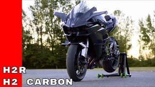 2017 Kawasaki Ninja H2R and H2 Carbon