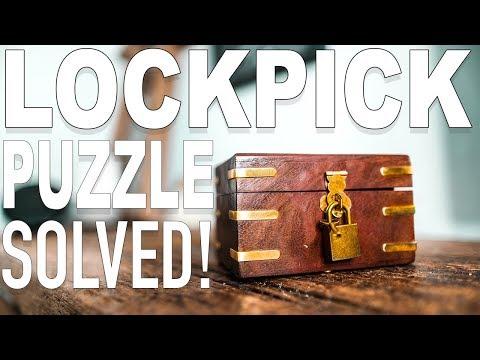 Solving the Expert LOCKPICK Puzzle!!