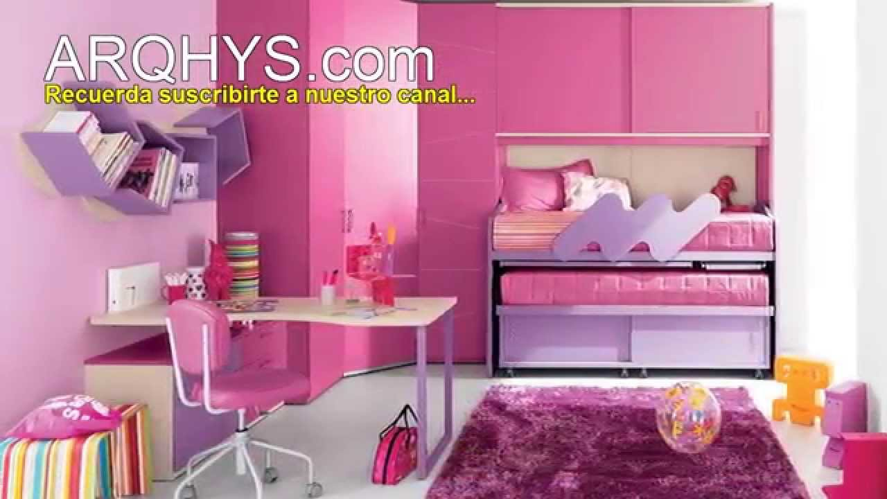 Decorar una sala de estar tem tica barbie solo para ni as - Pared decorada con fotos ...