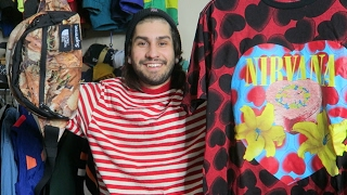 TRIP TO THE THRIFT #45: EBAY UNBOXING, SUPREME x TNF, Vintage Tour Shirts
