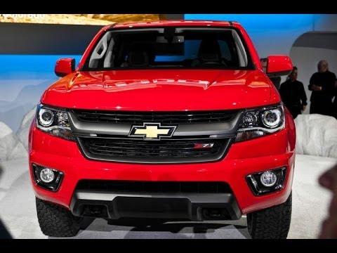 2015 Chevrolet Colorado Exterior & Interior Design