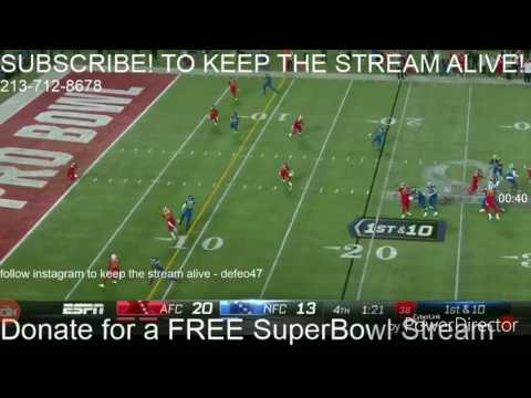Interception in 2017 Pro Bowl then Kirk Cousins STRIPS THE BALL!! (MUST SEE) HD