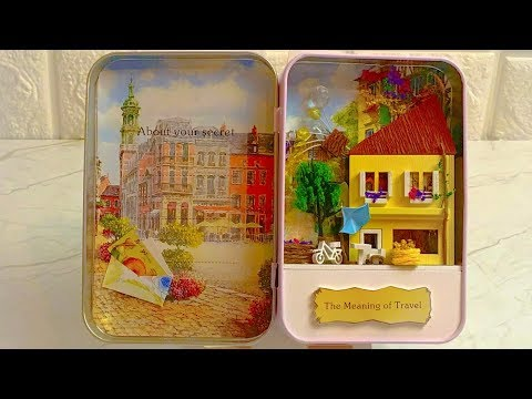 DIY Miniature Dollhouse BOX SECRET The Meaning of Travel
