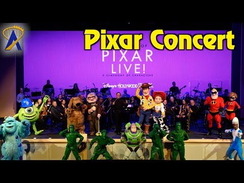 Preview The Music of Pixar Live! at Disney's Hollywood Studios