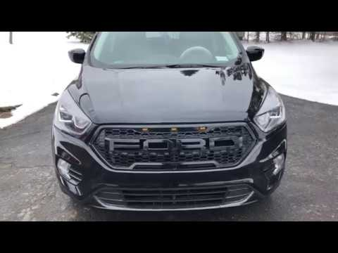 Ford Escape With Led Raptor Grille