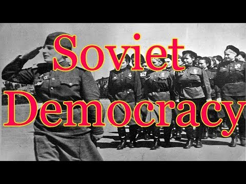 The USSR: Democratic or Totalitarian?