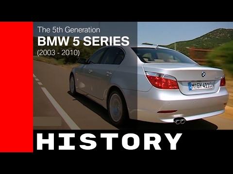 BMW 5 Series E60-E61 History 2003 - 2010