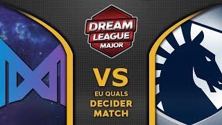 Nigma vs Liquid Leipzig Major DreamLeague S13 2019 EU Highlights Dota 2
