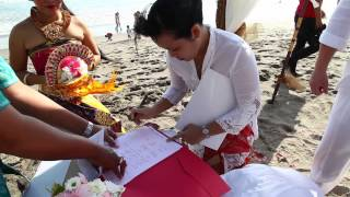 Ana and Eric Wedding in Bali
