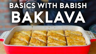 Baklava | Basics with Babish