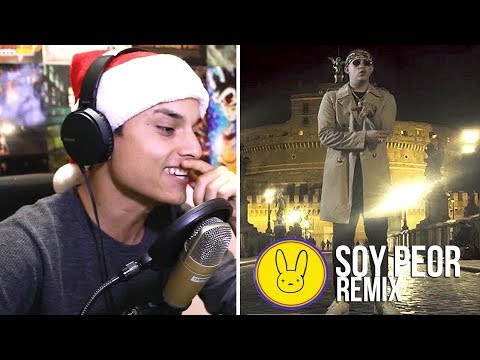 [Reaccion] Soy Peor Remix – Bad Bunny FT J Balvin, Ozuna & Arcangel (Video oficial) X100PRE