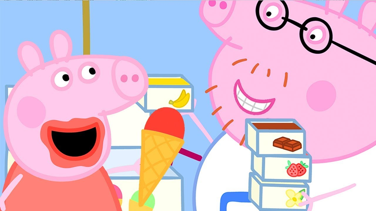 Peppa Pig Official Channel Peppa Pig And Daddy Pig S Ice Cream Truck