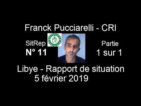 CRI Franck Pucciarelli   Sitrep Libye n°11 du 5 fevrier 2019 part 1 sur 1